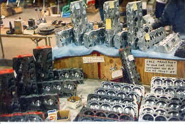 More Aluminum Cylinder Heads on Display at the Motorama Show in Chicago