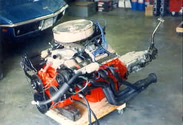 Another of my big block engines - fresh and ready to go...A/C and the whole nine yards